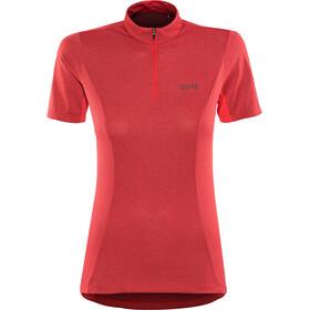 GORE WEAR C3 - Maillot manches courtes Femme - rouge